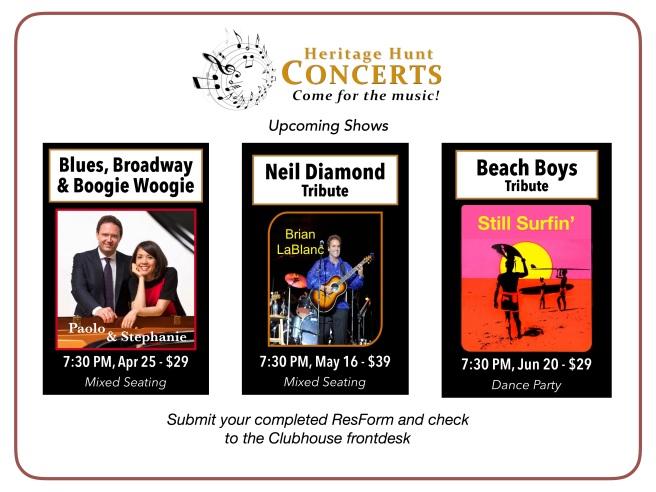 3-Concert Schedule - Apr thru Jun